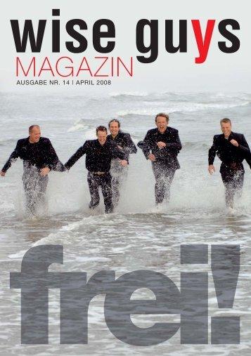 Magazin 1/08 - Wise Guys