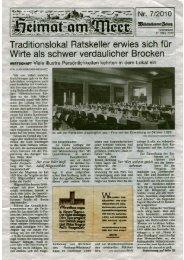Traditionslokal Ratskeller . . - Stadt Wilhelmshaven