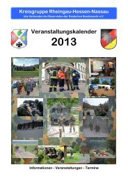 Veranstaltungskalender - Reservistenkameradschaft Limburg