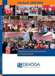 Jahrbuch 2008/2009 - DEHOGA Bundesverband