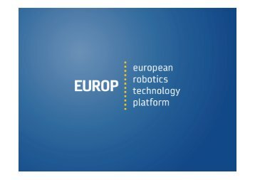 EUROP General Assembly - European Robotics Technology Platform