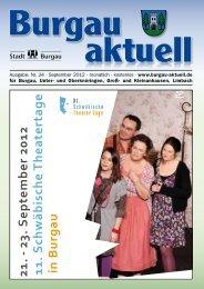 Ausgabe: Nr. 24 · September 2012 · monatlich ... - Stadt Burgau