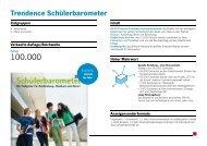 2013 Trendence Schülerbarometer für nicht gerankte Unternehmen