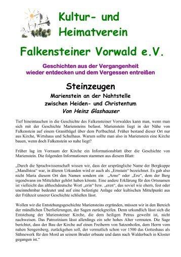und Christentum Von Heinz Glashauser - Kultur- und Heimatverein