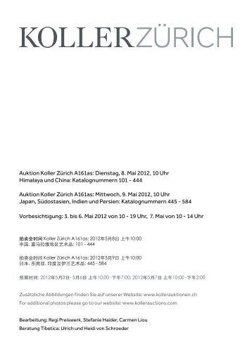 PDF Koller Zürich - Koller Auktionen