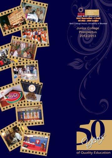 Junior College - SIES - College of Arts, Science & Commerce