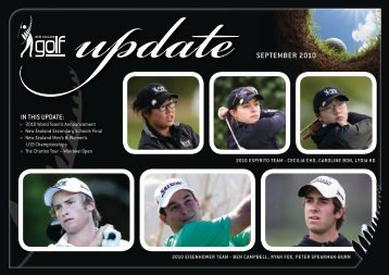 SEPTEMBER 2010 - New Zealand Golf