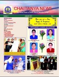 Chaitanya News - Chaitanya colleges, Hanamkonda, Warangal.