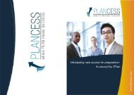 Brochure - Plancess.com