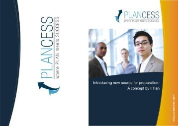 Brochure - Plancess.com