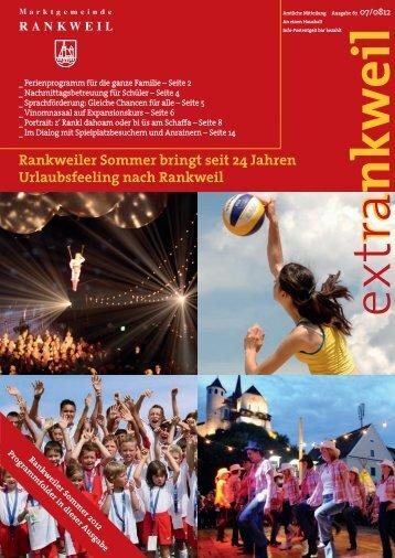 Rankweiler Sommer bringt seit 24 Jahren Urlaubsfeeling nach ...