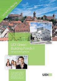 UDI Green Building Fonds I