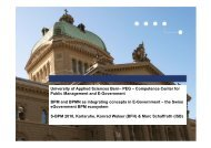 the Swiss eGovernment BPM ecosystem - Institut AIFB - KIT