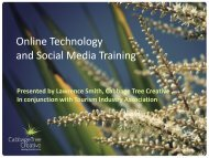 Online Technology and Social Media Training - Cabbage Tree ...