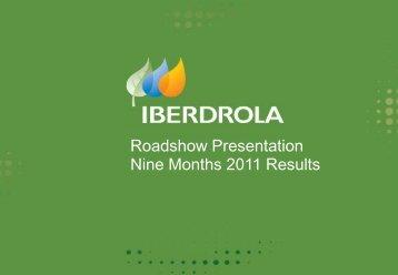 Nine Months 2011 Results