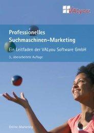 Professionelles Suchmaschinen-Marketing - VALyou Software GmbH