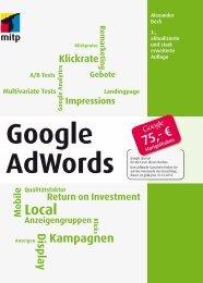 Google AdWords : Stichwortverzeichnis - Mitp