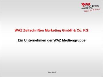 Frauenzeitschriften - WAZ Zeitschriften Marketing