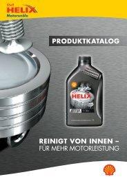 Shell-Helix Produktkatalog
