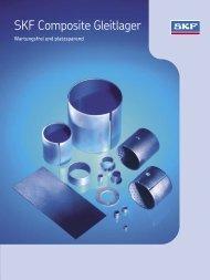 6110 DE Composite Gleitlager – wartungsfrei und platzsparend