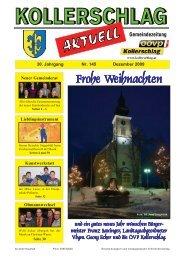 Ausgabe Dezember 2009