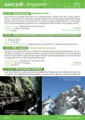 Sommerprogramm 2012 - Ternberg-Trattenbach - Naturfreunde - Page 6