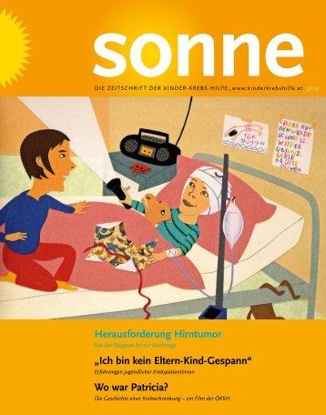Wo war Patricia? - Österreichische Kinder-Krebs-Hilfe