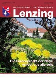 Gemeindezeitung Mai 2006 - Lenzing