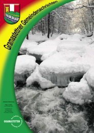 Amtliche Mitteilung Folge 1/2006 - Gramastetten - Land Oberösterreich