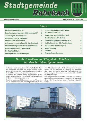 Ausgabe 06 - Rohrbach