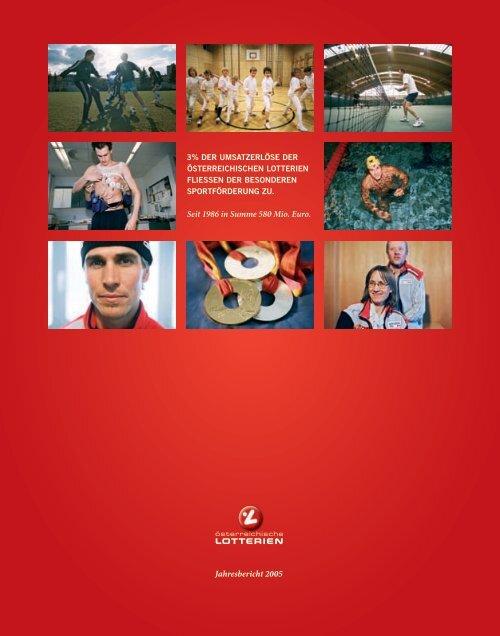 Österreichische Lotterien Jahresbericht 2005 - win2day