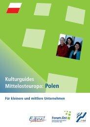 Kulturguides Mittelosteuropa: Polen - Fachhochschule des ...