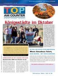 Königsstädte im Oktober - top am counter