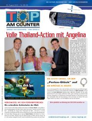 Volle Thailand-Action mit Angelina - top am counter