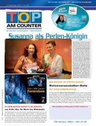 Susanna als Perlen-Königin - top am counter