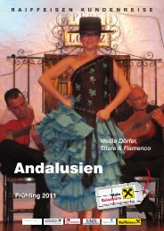 Andalusien - Raiffeisen