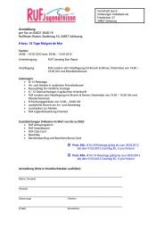 Anmeldung per Fax an 04621 3040-19 Raiffeisen Reisen, Stadtweg ...