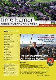 Gemeindenachricht Nr. 5/2008 - Timelkam