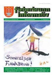 fieberbrunn informativ 04/2005 (0 bytes) - Fieberbrunn - Land Tirol
