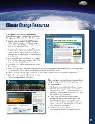 Resources, Endnotes, and Back Cover - US Environmental ...