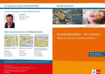 Prospekt Berufliche Schulen (PDF-Datei) - Klett Akademie für ...