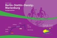 Berlin–Stettin–Danzig - IS.RADWEG. Karten- und BücherShop