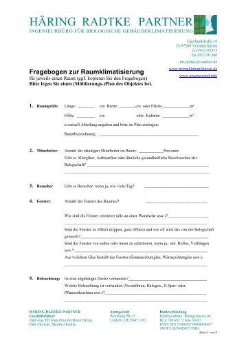 Partnervermittlung fragebogen