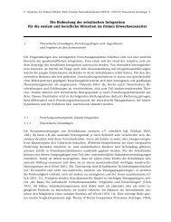 Theoretische Grundlagen, Forschungsfragen und - schule ...
