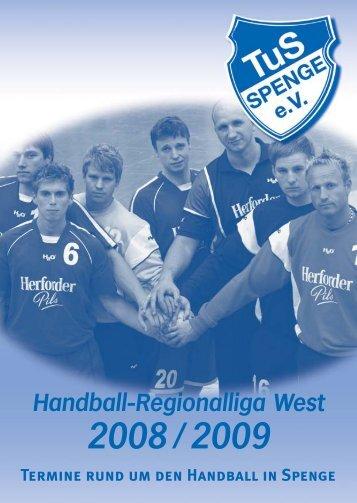 Handball-Regionalliga West - TuS Spenge Handball