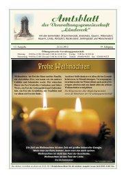 Amtsblatt Dezember 2012 - Verwaltungsgemeinschaft Ländereck