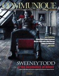SweeNEY TODD - Radio-Television-Film - The University of Texas ...