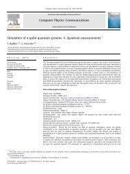 Simulation of n-qubit quantum systems. V. Quantum measurements
