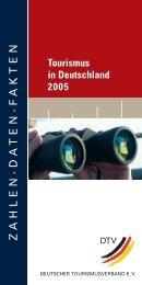 Tourismus in Deutschland 2005 - IKZM-D Lernen