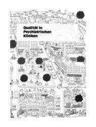Leitfaden zur Qualitätsbeurteilung in Psychiatrischen Kliniken